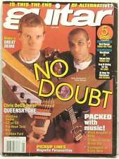 GUITAR MAGAZINE NO DOUBT TOM DUMONT TONY KANAL QUEENSRYCHE MARK KNOPFLER RARE!!!
