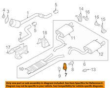 FORD OEM 15-17 Mustang 5.0L-V8-Exhaust Bracket-Front FR3Z5A242C
