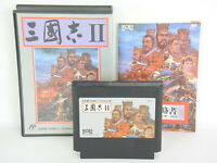 SANGOKUSHI II 2 Famicom Nintendo fc