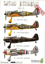 Karaya Models Decals 1/72 CAPTURED BUTCHERBIRDS Fw-190 Fighters Part 1