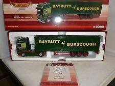 Corgi Diecast transportistas de renombre CC14101 DAF 105 Caja Remolque W baybutt Ltd