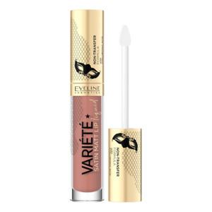 Eveline Variete Matt Liquid Lipstick with Hyaluronic Acid 01 Caramel Cake 4.5ml