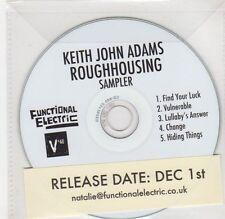(GF344) Keith John Adams - Roughhousing, Sampler - DJ CD