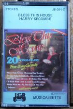 BLESS THIS HOUSE     HARRY SECOMBE      CASSETTE TAPE  (RETRO) (JB 054-C)   (77)