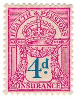 (I.B) George V Revenue : Health & Pensions Insurance 4d
