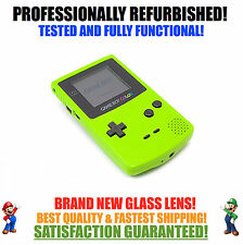 *NEW GLASS SCREEN* Nintendo Game Boy Color GBC Kiwi Green System