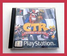Jeu PS1 CTR-Crash Team Racing-BANDICOOT-Playstation vintage rétro game
