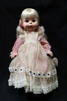 "Vtg Effanbee Suzie Sunshine Doll Freckles 18"" USA 1960's Collectible Keepsake"