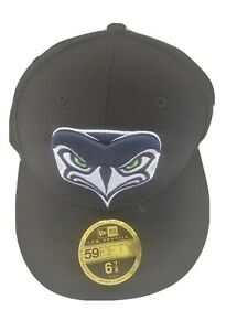 New NFL Seattle Seahawks Football New Era 59Fifty Hat Cap Low Profile Size 6 7/8