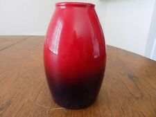 """Pottery Ceramic Vase Scheurich Germany 629-18 Purple Red 7"""" Excellent Condition"""