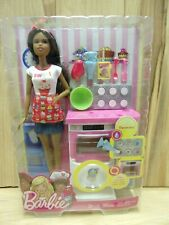 Barbie | Bakery Chef Nikki Doll And Play Set | Ages 3+