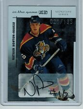 2003-04 ITG USED SIGNATURE SERIES NATHAN HORTON #128 ROOKIE AUTO 028/135