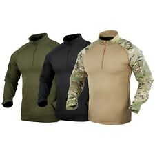 Condor Moisture Wicking Tactical Breathable Military 1/4 Zip Combat Shirt S-XXL