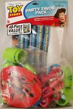 TOY STORY 48pc FAVOR PACK Disney Kids Party Supplies Kit Has Everything RARE
