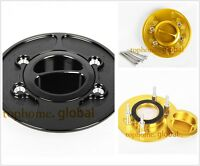 CNC Fuel Tank Cover Gas Cap For S1000RR 10-14 / R1200S 06-08 /  R1200R 06+