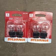 2 - 2 packs -Sylvania 3157 Sidemarker Lamp