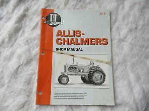 Allis Chalmers WD WD45 B-C CA tractor service shop manual