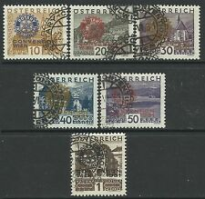 AUSTRIA 1931. Rotarian Congress Set. SG: 666/71. Fine Used Commemorative Cancels