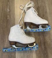 Riedell Ice Skates Girls Size J11 Model: Stock 12W PO21002