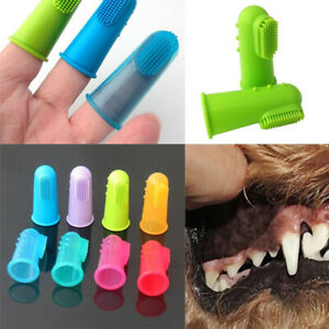 Dog toothbrush Clean Teeth Finger Brush Cat Toothbrush Puppy Dental Care Gums
