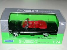 Welly - 1963 CHEVROLET IMPALA (Black - Cabriolet) - Die Cast Model Scale 1:24