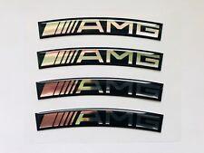 "A set of Mercedes AMG 16""-20"" Rims 3D Domed Stickers. (Read description)"