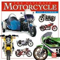The Ultimate Motorcycle 2020 Square Wall Calendar by Browntrout FREE POST