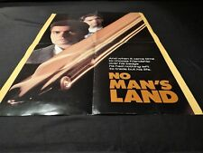 no man's land 260 CHRONO PORSCHE 911  rare affiche scenario cinema  cars