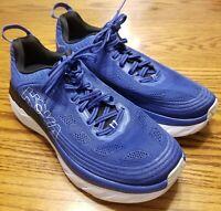 HOKA ONE ONE Bondi 6 Men's Size 9 Comfort Cushioned Athletic Sneakers Worn twice