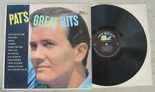 PAT BOONE ~ Pat's Great Hits ~ Dot [DLP-3071] Original Vintage Vinyl LP Press