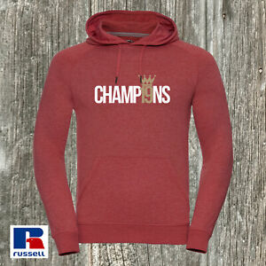 Liverpoll CHAMP19NS Rusell Hoodie Fitted HD Style Champions Premier Winners