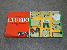 VINTAGE WADDINTONS 1965 CLUEDO : THE GREAT DETECTIVE GAME - IN VGC (FREE UK P&P)