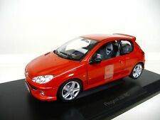1:18 NOREV Peugeot 206 RC rot red NEU NEW