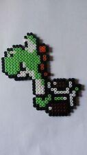 Yoshi - Bead sprite perler pixel art - Perles à repasser