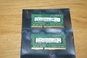 4GB (2 X 2GB) PC3-8500S PC3-10600S PC3-12800S SO-DIMM RAM MEMORY LAPTOP NOTEBOOK