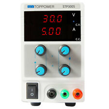 30V 5A Variable Switch LCD Digital DC Regulated Power Supply Lab Grade STP3005