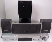 Panasonic Home Theater System 5 Disc DVD & Tuner 3 Speakers & a Subwoofer