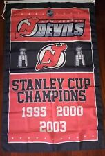 New Jersey Devils Stanley Cup Champions Flag 3ft x 5ft Polyester NHL Banner
