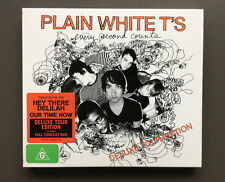 PLAIN WHITE T'S Every Secound Counts Deluxe Tour Edition CD NEW & Bonus LIVE DVD