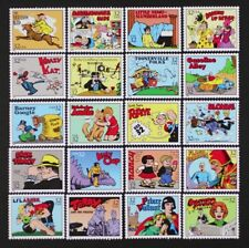 US 1995 #3000 Comic Strip Classics Complete set of 20 stamps in Singles Mint NH