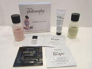NIB Philosophy Eye & Face Hope, Miracle Worker, Purity & Amazing Grace Shower!!