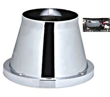 Chrome Induction Cone Air Filter Peugeot 206 CC 2000-2010
