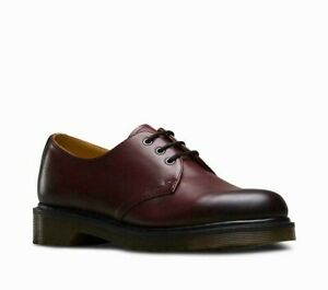 Dr Martens 1461 Cherry Red Antique Temperley Leather Shoes UK 3 4 5 6.5 8 10 12