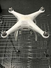 DJI Phantom 3 Professional Quadcopter As Is Parts Or Repair Drone