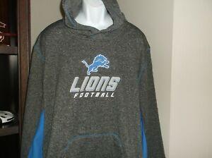 Detroit Lions Sweatshirt Size Men's 3XL nwt Free Ship