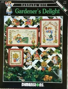 Gardener's Delight Ornaments and Pictures Dimensions Cross Stitch Pattern #246