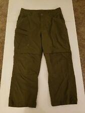 Men's Berghaus Convertible Pants Size 36W X 27L Olive