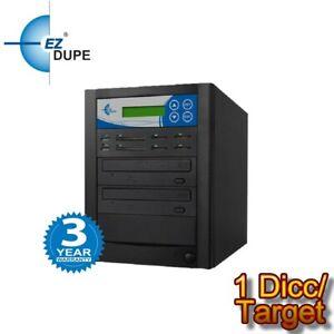 EZ DUPE Media Mirror Plus 1 to 1 DVD Duplicator - USB CF SD Flash Media to Disc