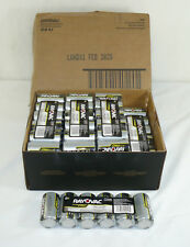 72 NEW Rayovac ULTRA PRO Alkaline D Cell Batteries Fresh Exp 2028 Free Shipping