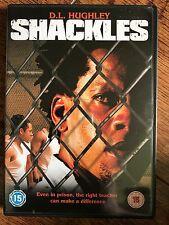 Georg Stanford Brown SHACKLES ~ 2005 Prison Film / Urban Crime Thriller   UK DVD